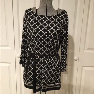 Charter Club Tie Top Size Large